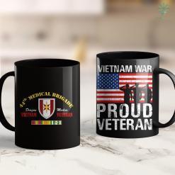 Dav Donation Pickup 44Th Medical Brigade Vietnam Veteran Dragon Medics Tee 11Oz 15Oz Black Coffee Mug %tag familyloves.com