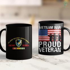 Disabled Vets Pickup Army Security Agency Group Vietnam Veteran 11Oz 15Oz Black Coffee Mug %tag familyloves.com