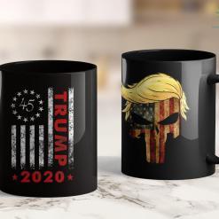Donald Trump Accessories Trump 2020 Betsy Ross 13 Star American Usa Flag 1776 11oz Coffee Mug %tag familyloves.com