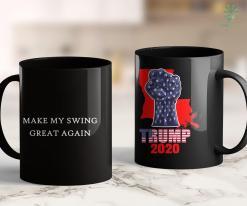 Donald Trump Shirts Make My Swing Great Again Funny Trump Baseball Golf Tennis 11oz Coffee Mug %tag familyloves.com