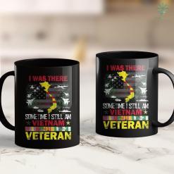 Donate To Vets I Was There Somtime I Still Am Vietnam Veteran Tee U.S Vets 11Oz 15Oz Black Coffee Mug %tag familyloves.com