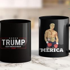 Dump Trump T Shirt Donald Trump 2020 Keep America Great 11oz Coffee Mug %tag familyloves.com