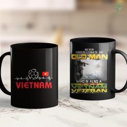 Famous Vietnam Veterans Vietnam Soccer Jersey Best Vietnamese Football Lover 11Oz 15Oz Black Coffee Mug %tag familyloves.com