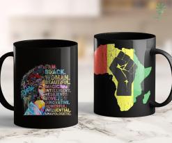 Founder Of Black Lives Matter I Am Black Women Strong Afro Black History Month Queen Gift 11Oz 15Oz Black Mug %tag familyloves.com