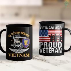 Map Viet Nam 1St Aviation Brigade Vietnam 11Oz 15Oz Black Coffee Mug %tag familyloves.com