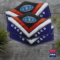 Me Coast Guard Coast Guard Senior Chief Semper Paratus Uscg Oval Face Mask Gift %tag familyloves.com