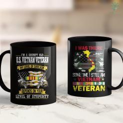 Nationalparks Vietnam Im A Grumpy Old Us Vietnam Veteran 11Oz 15Oz Black Coffee Mug %tag familyloves.com