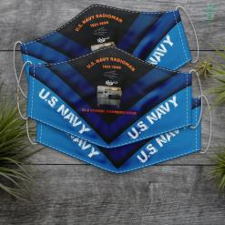Navy Aviator Jacket U.S. Navy Radioman Old School Communicator Face Mask Gift %tag familyloves.com