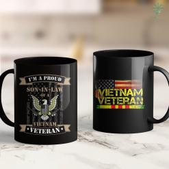 Nyc Donation Pickup Proud Son In Law Of Vietnam Veteran 11Oz 15Oz Black Coffee Mug %tag familyloves.com