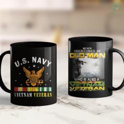 Pick Up Donations U.S. Navy Vietnam Veteran Thankgiving Gifts 11Oz 15Oz Black Coffee Mug %tag familyloves.com