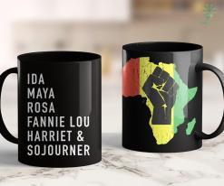 Poe Unarmed Powerful Women Black History Month 11Oz 15Oz Black Mug %tag familyloves.com