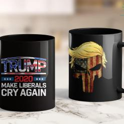 President Trump Memorabilia Trump 2020 Make Liberals Cry Again Men Women Kids 11oz Coffee Mug %tag familyloves.com