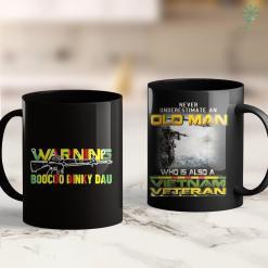 Ptsd Vietnam Vets Vietnam Veteran Gun Warning Boocoo Dinky Dau 11Oz 15Oz Black Coffee Mug %tag familyloves.com