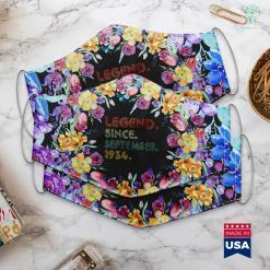 September Birthstone Rings Legend Since September 1934 Best Bday Gifts 85Th Birthday Face Mask Gift %tag familyloves.com