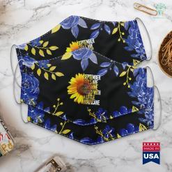 Thank You Gift September Girls Are Sunshine Mixed Hurricane Sunflower Face Mask Gift %tag familyloves.com