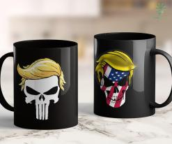 Trump 2020 Apparel Skull With Iconic Trump Hair President Supporter 11oz Coffee Mug %tag familyloves.com