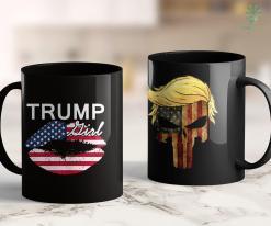 Trump 2020 Background Womens Trump Girl 2020 President Donald Trump Reelections Gear 11oz Coffee Mug %tag familyloves.com