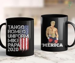 Trump 2020 Banner Donald Trump 2020 - Cool Military Veteran Phonetic Alphabet 11oz Coffee Mug %tag familyloves.com