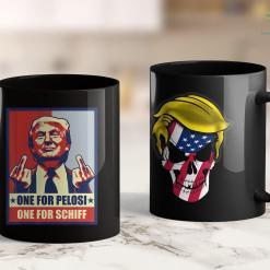 Trump 2020 Donations Pro Donald Trump Gifts Republican Conservative Pelosi Schiff 11oz Coffee Mug %tag familyloves.com