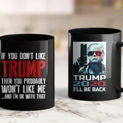Trump 2020 Fabric If You Dont Like Trump T 11oz Coffee Mug %tag familyloves.com