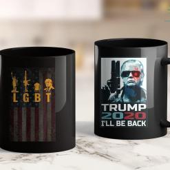 Trump 2020 Flag With Pole Funny Lgbt Liberty Guns Beer Trump Support 11oz Coffee Mug %tag familyloves.com
