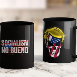 Trump 2020 Gold Card Socialism No Bueno Hispanic Conservative Trump 2020 11oz Coffee Mug %tag familyloves.com