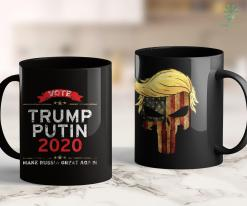 Trump 2020 Hoodie Trump Putin 2020 Make Russia Great Again Distressed 11oz Coffee Mug %tag familyloves.com
