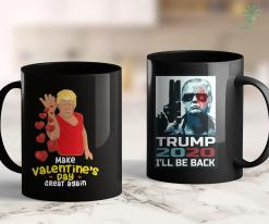 Trump 2020 Official Funny Make Valentines Day Great Again Cupid Trump Bae Gift 11oz Coffee Mug %tag familyloves.com