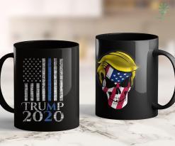 Trump 2020 Prediction Pro Trump 2020 Thin Blue Line Us Flag Le Police Officer Gift 11oz Coffee Mug %tag familyloves.com