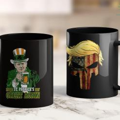 Trump 2020 The Sequel Trump Lover Gifts Make St Patricks Day Great Again 11oz Coffee Mug %tag familyloves.com