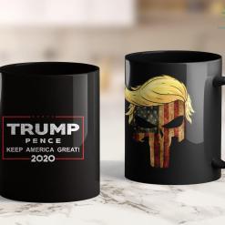 Trump 2020 Will Win Jesus Is My Savior Trump Is My President 2020 11oz Coffee Mug %tag familyloves.com