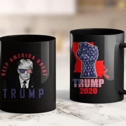 Trump 2020 Women'S Shirt God Family Guns Amp Trump Wins President Election Pro 11oz Coffee Mug %tag familyloves.com