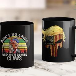 Trump Campaign T Shirts Trump 2020 Female Supporter Im A Trump Girl Get Over It 11oz Coffee Mug %tag familyloves.com