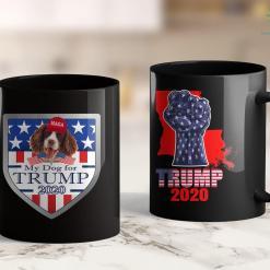 Women For Trump T Shirt Jesus Is My Savior Trump Is My President Blue Line 11oz Coffee Mug %tag familyloves.com