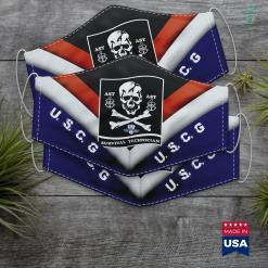 Us Guard Coast Guard Aviation Survival Technician Ast Face Mask Gift %tag familyloves.com