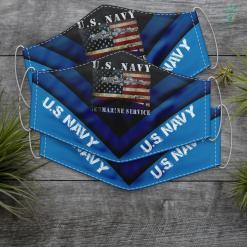 Us Navy Jacket U.S Navy Submarine Service American Flag Vintage Face Mask Gift %tag familyloves.com