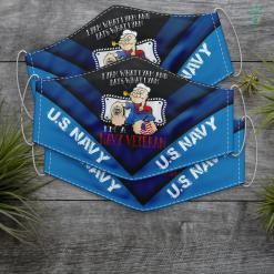 Us Navy Ring Im A Navy Veteran U.S. Navy Face Mask Gift %tag familyloves.com