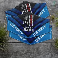 Us Navy Wallet Us Navy Proud Uncle Veteran Face Mask Gift %tag familyloves.com