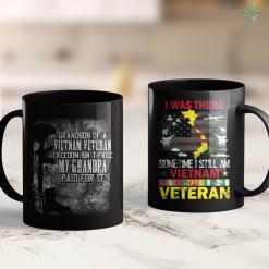 Usa Wall Grandson Of A Vietnam Veteran My Grandpa Paid For It Tee 11Oz 15Oz Black Coffee Mug %tag familyloves.com
