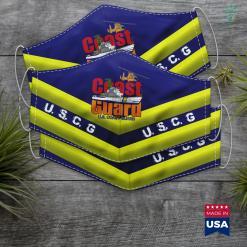 Uscg Seal U.S. Coast Guard Original Uscg Team Gif Face Mask Gift %tag familyloves.com