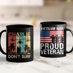 Veteran Donation Pick Up Charlie Dont Surf Military Vietnam War Apocalypse 11Oz 15Oz Black Coffee Mug %tag familyloves.com