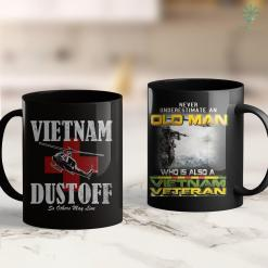 Veteran Site Vietnam Dustoff Distressed 11Oz 15Oz Black Coffee Mug %tag familyloves.com