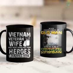 Veteran War Vietnam Veteran Wife 11Oz 15Oz Black Coffee Mug %tag familyloves.com