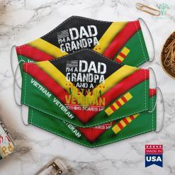 Veterans Charity Pick Up Mens Im Dad Grandpa And Vietnam Veteran Us Army Veterans Day Face Mask Gift %tag familyloves.com