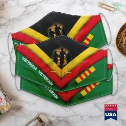 Veterans Donation Pickup Vietnam Veteran Us Flag Gift Vietnam War Vet Tee Face Mask Gift %tag familyloves.com