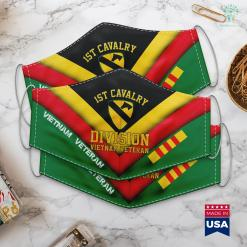 Veterans Donations 1St Cavalry Division Vietnam Veteran Face Mask Gift %tag familyloves.com