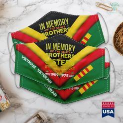 Veterans Furniture Pick Up Vietnam Veteran In Memory The War Vietnam Face Mask Gift %tag familyloves.com