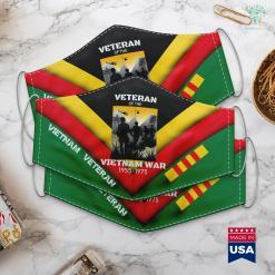 Veterans In Action Vietnam War Us Army Veteran S For Men Face Mask Gift %tag familyloves.com