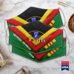 Veterans Wall 173Rd Airborne Brigade Vietnam Veteran Sky Soldier Tee Face Mask Gift %tag familyloves.com