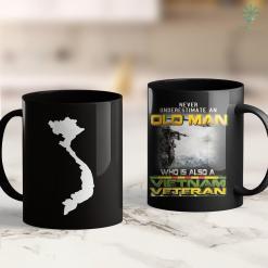 Veterans Clothing Vietnam Map 11Oz 15Oz Black Coffee Mug %tag familyloves.com